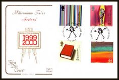 British Stamps 1999  - Millenium Series The Artists' Tale FDC