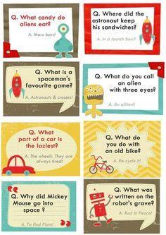 Lunch box jokes