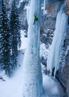 The Fang, Frozen Waterfall, Vail, Colorado
