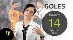 GOLES Jornada 14 - Liga Mx AP 2014