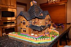 Laura Vanderbeek: Haunted Gingerbread House