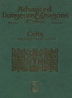 HR3 Celts Campaign Sourcebook (2e)   Book cover and interior art for Advanced Dungeons and Dragons 2.0 - Advanced Dungeons & Dragons, D&D, DND, AD&D, ADND, 2nd Edition, 2nd Ed., 2.0, 2E, OSRIC, OSR, d20, fantasy, Roleplaying Game, Role Playing Game, RPG, Wizards of the Coast, WotC, TSR Inc.   Create your own roleplaying game books w/ RPG Bard: www.rpgbard.com   Not Trusty Sword art: click artwork for source