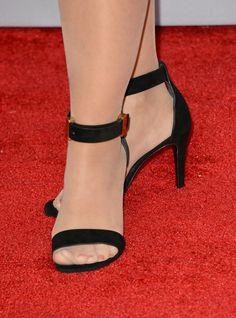 Pretty feet encased in opaque suntan pantyhose wearing pretty shoes. Glow Shoes, Stockings Legs, Opaque Stockings, Strappy High Heels, Stilettos, Pantyhose Heels, Open Toe Shoes, Cute Sandals, Women's Feet