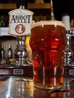 #53 Abbot Ale 5% [The Auld Brig, Irvine] #GreeneKing #bitter
