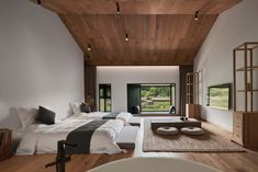 A previously ramshackle farmhouse snuggled amid the lush emerald green hills in China's central Hubei province has been transformed by The Design Institute of Landscape & Architecture China Academy of Art into Nanchawan•Shiwu Tribe Homestay – a bijou, four-room guesthouse.