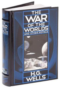 The War of the Worlds and Other Novels (Barnes & Noble Leatherbound Classics)  FOR ADULT TABLE ON STAND  (GIFT TOO)