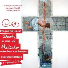 Porque há um só Deus, e um só mediador entre Deus e os homens, Jesus Cristo homem.  1Timóteo 2:5  #maravilhosopai #fé #faith #father #bible #bíblia #boanoite #god #godbless #inspiração #Deus #mediador #Deus #JesusCristo