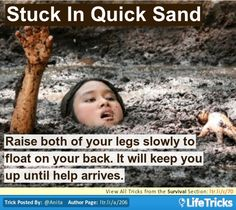 Stuck In Quick Sand?