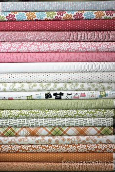 Lucy's Crab Shack by SweetWater and Moda, Multi, 18 Total Fat Quarter bundle,. $49.50, via Etsy.
