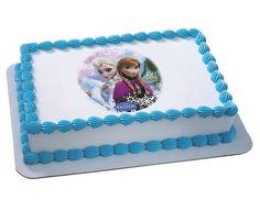 Frozen Edible Cake Topper Sydney