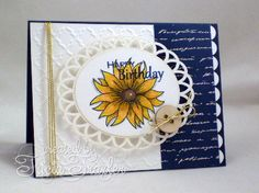Mix It Up Monday - Fall Birthday created by Tricia Traxler a GinaK Design team member.