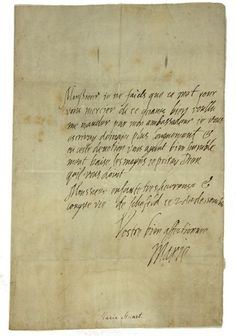 Last letter Mary Queen of scots