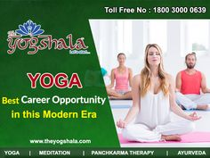 The Yogshala helps the people in finding best career opportunity in yoga and making bright future in yoga as best career opportunity in yoga health and wellness. Best Physique, International Yoga Day, Precious Gift, Best Careers, Career Opportunities, Living A Healthy Life, Yoga Teacher Training, Bright Future, Training Courses