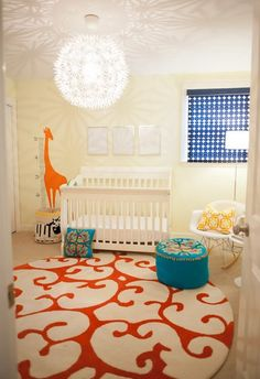 Pretty personalized growth chart in Nursery Transitional with Boy Nursery next to Finished Attic alongside Round Rug and Shared Nursery And Toddler Room White Nursery, Nursery Neutral, Baby Boy Rooms, Baby Boy Nurseries, Kids Rooms, Kids Bedroom, Bedroom Ideas, Boys Room Decor, Kids Decor