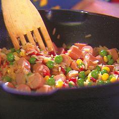 Nakkirisotto Bruschetta, Salsa, Pizza, Baking, Dinner, Vegetables, Koti, Ethnic Recipes, Red Peppers