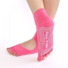 2017 Hot Sale Women Yoga Socks Non-slip Rubber Fitness Warm Socks for Yoga Pilates Gym Dance Sport Exercise Barefoot Feel Socks Buy Socks, Socks For Sale, Women's Socks, Sock Store, Yoga Socks, Socks And Sandals, Sport Socks, Basic Outfits, Thongs