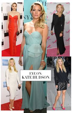 See Kate Hudson's latest looks on the red carpet and more