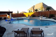 Natural / Freeform Pool #165 by Southernwind Pools