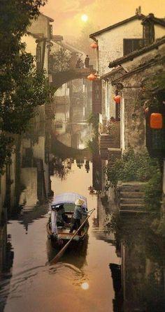 Shanghai Zhouzhuang   Shanghai Zhouzhuang Water Town - China