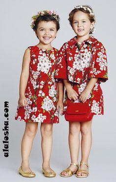 ALALOSHA: VOGUE ENFANTS: Dolce&Gabbana for little girls SS2014