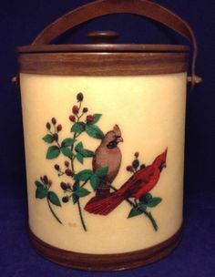 Image result for Red Cardinal Bird BACOVA GUILD Fiberglass Wall Mailbox Vintage Mail Box