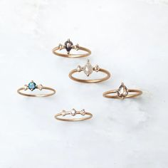 Here are some of those myths and some ideas to inspire you to break from tradition and to help you find the perfect engagement ring that is as unique as you are. Large Engagement Rings, Boho Engagement Ring, Alternative Engagement Rings, Perfect Engagement Ring, Diamond Engagement Rings, Wedding Anniversary Rings, Wedding Rings, Constellation Necklace, Rose Jewelry