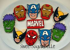 Marvel cookies.  And yes, I mean that I marvel at these cookies.