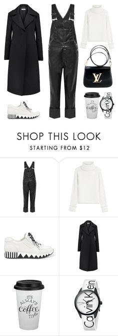 """Unbenannt #811"" by fashionlandscape ❤ liked on Polyvore featuring Givenchy, Karl Lagerfeld, Tory Burch, Jil Sander, Louis Vuitton and Calvin Klein"