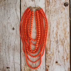 Harlow Beaded Strand Necklace