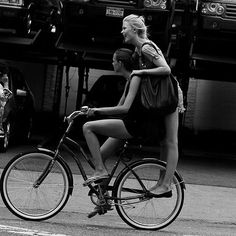 A bicycle made for two #StylishWeekender