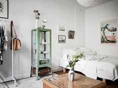 Studio apartment with vintage touch Follow Gravity Home: Blog - Instagram - Pinterest - Bloglovin - Facebook