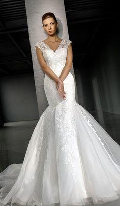 Свадебное платье годе - http://1svadebnoeplate.ru/svadebnoe-plate-gode-3002/ #свадьба #платье #свадебноеплатье #торжество #невеста