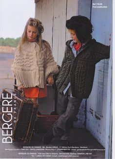 Cape in Bergere de France Sport & Hooded Jacket in Bergere de France Alaska - 17669. Discover more Patterns by Bergere de France at LoveKnitting. The world's largest range of knitting supplies - we stock patterns, yarn, needles and books from all of your favorite brands.