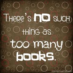 books, what more can I say