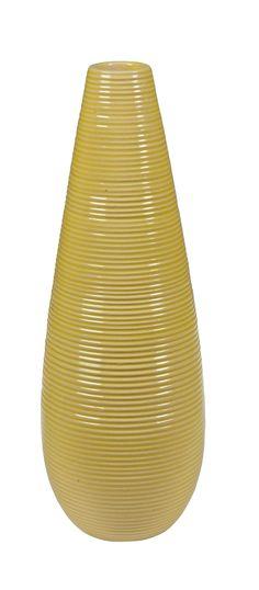 En décoration ou pour un joli bouquet de fleurs, le vase MALO Vert sera parfait pour votre déco - BUT