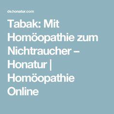 Tabak: Mit Homöopathie zum Nichtraucher – Honatur | Homöopathie Online