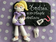 badge assistante dentaire