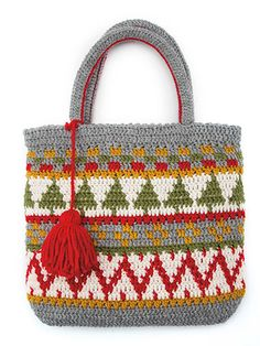 Winter Holiday Tote