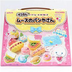 DIY Mousse Ton Set Glitzer Sandwich Gebäck Japan