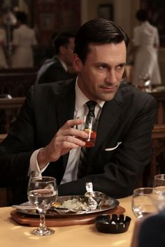 Another extremely well developed characters brought to you by the writers of MadMen. - Writer love