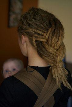dread braid! love it!