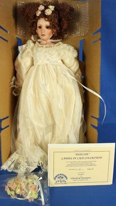 Dolls & Bears Doll Russian Empress Ekaterina Ii Handmade Doll With Porcelain Head And Hands