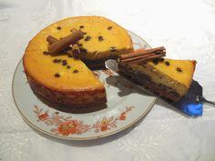 Cheesecake cannella e cioccolato / Cinnamon and chocolate cheesecake