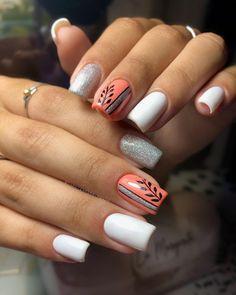 Leopard Nail Designs, Leopard Nails, Nail Art Designs, Semi Permanente, Fire Nails, Mani Pedi, Beauty Nails, Nail Polish Colors, Nail Arts
