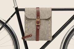 Felt Bike Bag by Flux Productions
