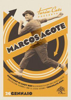 Turincats - Poster Workshop con Marcos Agote