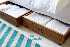 Put It Away: Bedroom Storage Solutions