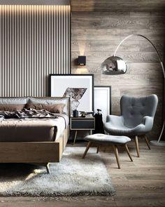 home decor bedroom design Modern Bedroom Design, Master Bedroom Design, Home Decor Bedroom, Modern Interior Design, Interior Design Inspiration, Bedroom Art, Master Bedrooms, Masculine Master Bedroom, Master Bedroom Minimalist