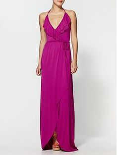 My favorite maxi designer. This color is stunning on.