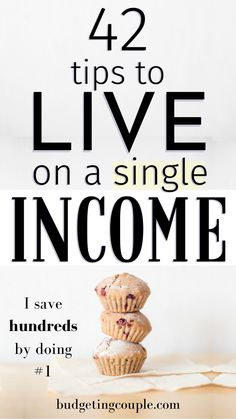 42 Frugal Tips💸 to Live on a Single Income - Want to save money *easily* while living on a single income? Check out the 42 frugal living tips yo - Best Money Saving Tips, Money Saving Challenge, Ways To Save Money, Saving Money, Money Tips, Money Budget, Money Hacks, Cash Money, Money Fast